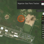 Detecting gas flaring from space